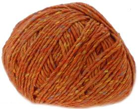 Sublime luxurious tweed DK 394, Rich Amber