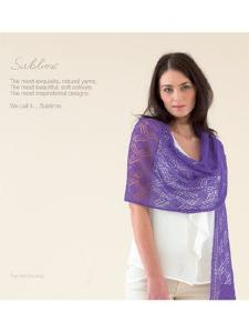 Sublime knitting book 675 Extra Fine Merino Lace