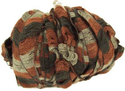 Katia Rizos 98 scarf knitting yarn, Silver Earth