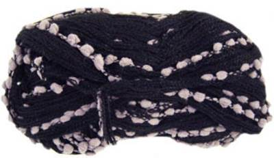 Katia Rocio scarf yarn, 501 black grey