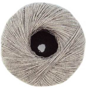 Katia Syros lace yarn 75 Silver Grey