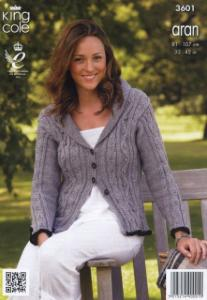 Tunic and cardigan King Cole 3601