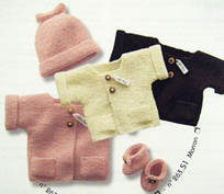 Bergere de France Baby Outfit knit kit 1
