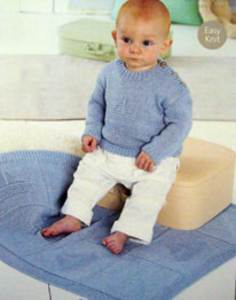 Sweater and blanket Sirdar 1326