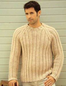 Free Knitting Pattern Mens Chunky Jumper : Mens knitting patterns modern knitting