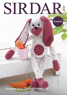 Crochet rabbit toy Sirdar 5157, Digital Download
