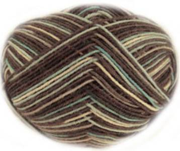 Regia 4 ply sock yarn, Jazz Colours, Colour me Cool 6453
