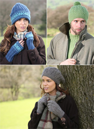 DK unisex hats and gloves Wendy Ramsdale 5789 digital download
