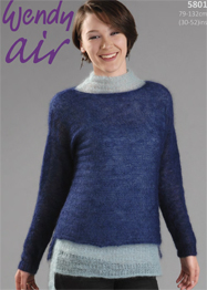 Mohair sweaters and slipover Wendy 5801 digital download