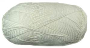 Patons 100% Cotton 4 ply, 1691 White
