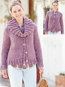 Cardigan and snood Sirdar 7168
