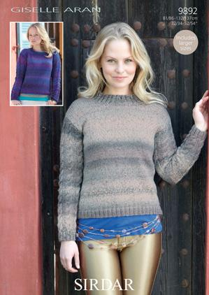 Sweater Sirdar 9892