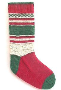 Christmas Stocking Socks digital download