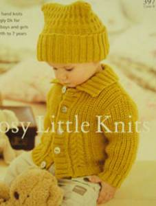 Sirdar Cosy Little Knits S397