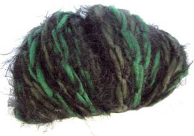 Katia Brooklyn scarf yarn, 57 greens