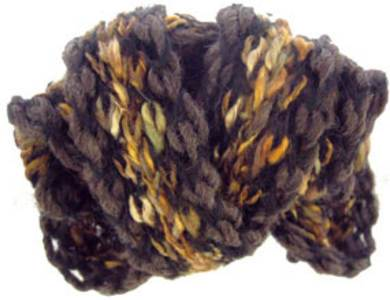 Katia Vienna scarf yarn, 121 brown and gold
