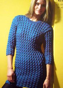 Sweater dress King Cole 3125