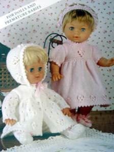 Doll clothes Patons PBNC2028