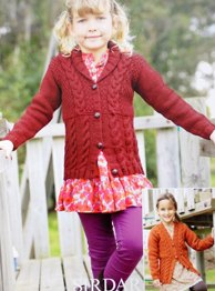 Aran cardigans Sirdar 2393 Digital Download