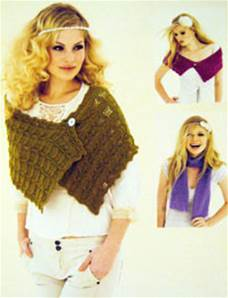 Lacy scarves and wraps Sublime 6047