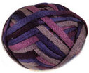 Katia Ondas scarf yarn, 76 purple shades