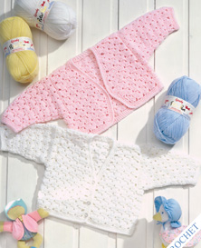 DK babies bolero and cardigan Peter Pan 904 Download