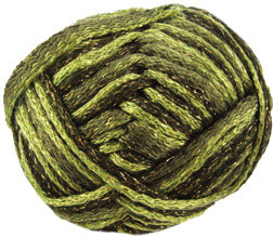 Rumba Sparkle scarf yarn 8 Grass