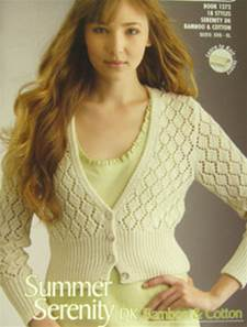Summer Serenity knitting book, Patons 1272