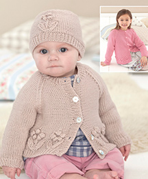DK cardigans and hat Sirdar 4785 Digital Download