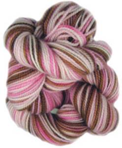 Claudia Oh Baby sock yarn Strawberry Latte