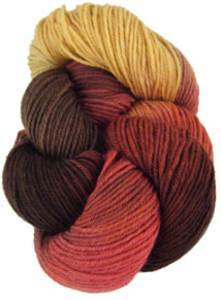 Lornas Laces Shepherd Sock 4 ply, Maple Grove