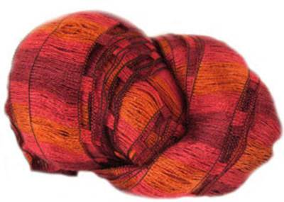 Woolcraft Tango 92 scarf knitting yarn, Flaming Oranges