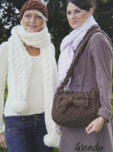 Superchunky scarf, bag and hat Wendy 5450 digital version