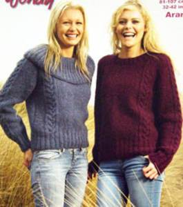 Aran sweater Wendy 5633 digital version