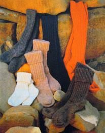 Adults and chldrens DK socks, Wendy 5669