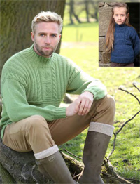 DK guernsey style sweater Ramsdale 5787 digital download