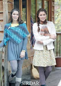Sirdar 7095 wrap and scarf