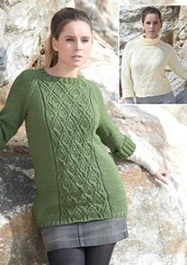 Aran sweaters Sirdar 7188 Digital Download