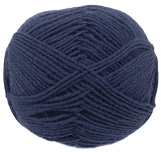 Cygnet Wool Rich 4 ply yarn, 324, Navy