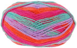 Heart And Sole 4 ply sock yarn 105 Hyper Hyper