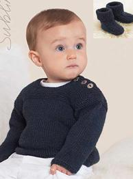 Sweater and boots Sublime 6051