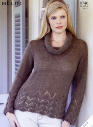 Sirdar 8740 sweater