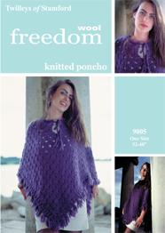 Poncho superchunky Twilleys 9005, digital version