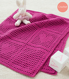 4 ply crochet blanket Sirdar 4807 Digital Download