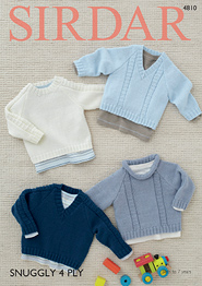 4 ply sweaters Sirdar 4810 Digital Download
