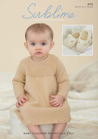 4 ply dress and shoes Sublime 6115 Digital Version
