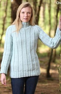 Chunky sweater and tunic Wendy 5819 digital download